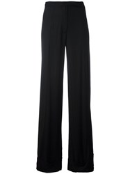 Ann Demeulemeester Classic Palazzo Pants Black