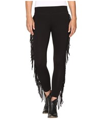 Rock And Roll Cowgirl Leggings 78 9252 Black Women's Casual Pants