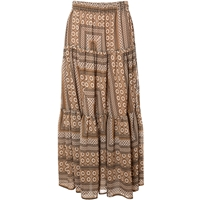 Alice And You Printed Maxi Skirt Multi Coloured