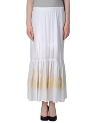 Aniye By Long Skirts White