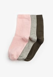 Missguided 3 Pack Coloured Socks Multi