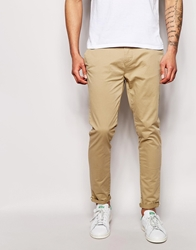 Pull And Bear Pullandbear Skinny Chino Sand