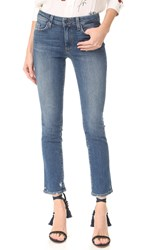 Paige Julia Straight Leg Jeans Nash