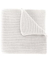 Stone Island Cable Knit Scarf Nude And Neutrals