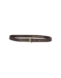 Roberta Furlanetto Belts Dark Brown