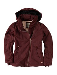 Bench To The Point Jacket Red