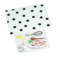 Kate Spade Deco Dot Chopping Boards Set Of 2