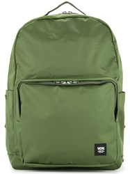 Wood Wood Classic Backpack Green