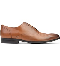 Kurt Geiger George Leather Oxford Shoes Tan