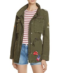 Levi's Embellished Cargo Jacket 100 Bloomingdale's Exclusive Army Green