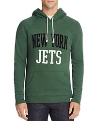 Junk Food New York Jets Pullover Hoodie Hunter