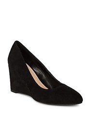 Nine West Jessa Suede Wedge Heels Black