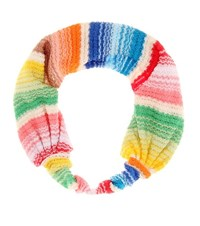Missoni Mare Crochet Knit Hairband Multicoloured
