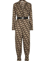 Fendi Roma Amor Jumpsuit Brown