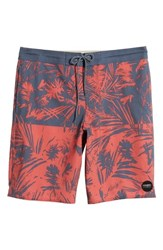 O'neill Inverted Cruzer Board Shorts Faded Red