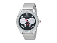 Betsey Johnson Bj00685 05 Cool Cat Silver Watches