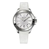 Thomas Sabo Rebel At Heart Lily White Silicon Watch