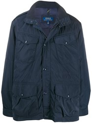 Polo Ralph Lauren Feather Down Jacket Blue
