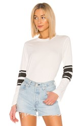 David Lerner Bell Sleeve Top White
