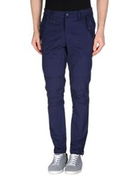 Aimo Richly Casual Pants Dark Blue