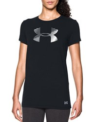 Under Armour Solid Cotton Tee Black