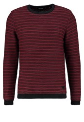 Only And Sons Onsdamien Jumper Rosewood Dark Navy Bordeaux