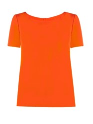 Diane Von Furstenberg Maggy Top Orange