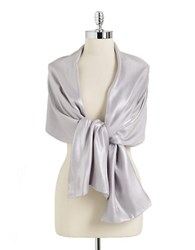 Cejon Metallic Sheen Scarf White