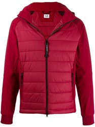 C.P. Company Cp Zipped Padded Jacket Red