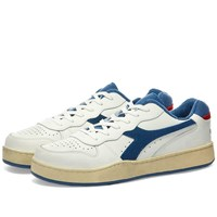 Diadora Mi Basket Low Used White