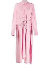 Christian Wijnants Maxi Shirt Dress Pink