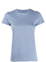 Vince Round Neck T Shirt Blue