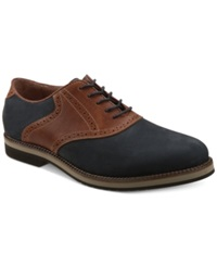 Bass Burlington Signature Saddle Oxford Men's Shoes Petrol Graham
