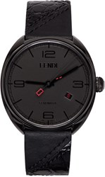 Fendi Black Momento Watch