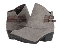 Blowfish Sistee Steel Grey Rancher Dyecut Pull On Boots Gray