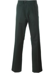 Societe Anonyme Straight Leg Trousers Green