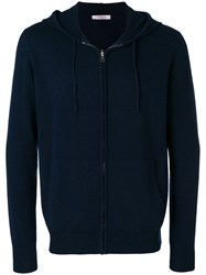 Liska Hooded Sweatshirt Blue