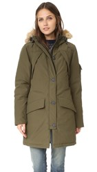 Penfield Hoosac Hooded Down Mountain Parka Lichen