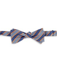 Vince Camuto Striped Bow Tie Orange