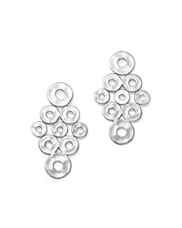 Ippolita Sterling Silver Senso Cascading Disc Earrings