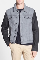 Joe's Jeans 'Revival' Denim Jacket Black