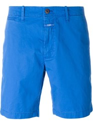 Closed Relaxed Fit Bermuda Shorts Blue