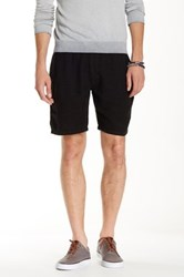 Benson New York Linen Drawstring Short Black