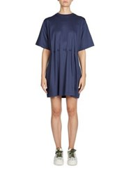 Kenzo Cinched Waist Dress Midnight Blue