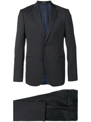 Emporio Armani Slim Two Piece Suit Blue