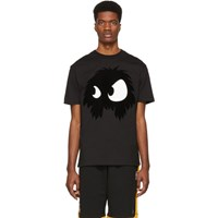 Mcq By Alexander Mcqueen Black Mad Chester T Shirt