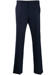 Corneliani Classic Tailored Trousers Blue