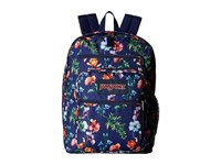 Jansport Big Student Multi Navy Mountain Meadow Backpack Bags Blue