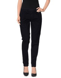 Department 5 Trousers Casual Trousers Women Dark Blue