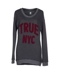 Truenyc. Sweatshirts Brick Red